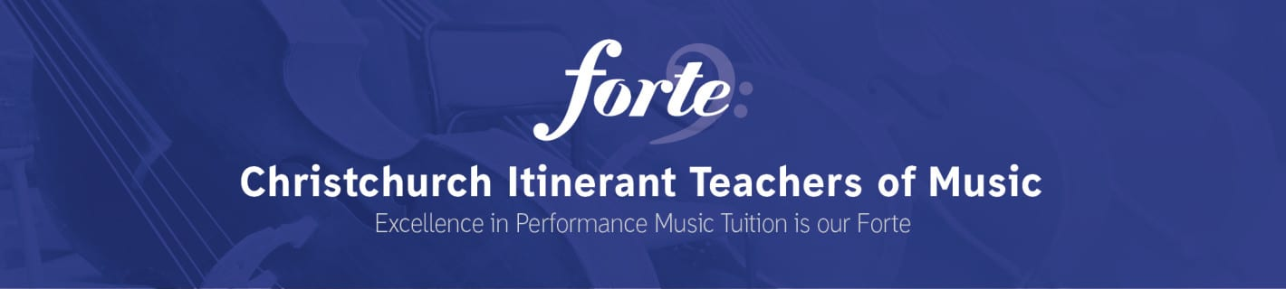 Forte Itinerant Teachers of Music page banner
