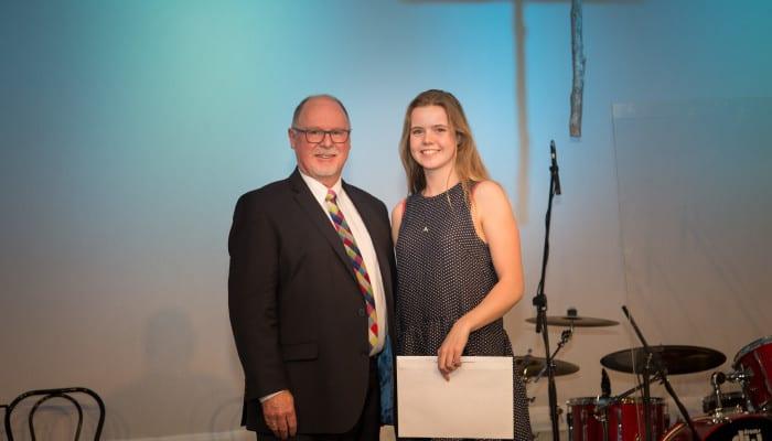 Jemma Ballard - 2015 Bickerton Widdowson Scholarship Winner